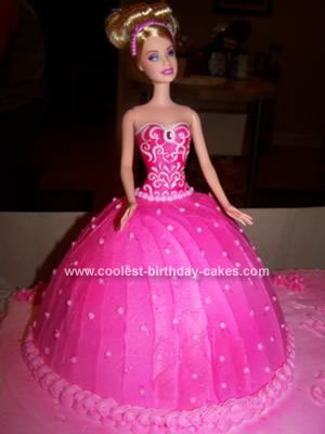 Walmart Birthday Cake Designs on Coolest Barbie Birthday Cake 184