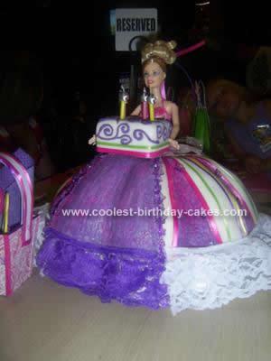 Homemade Barbie Cake Idea