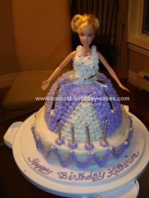 Amazing Birthday Cakes on Coolest Barbie Doll Birthday Cake 177