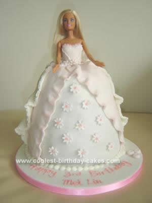Barbie Doll Birthday Cake Idea