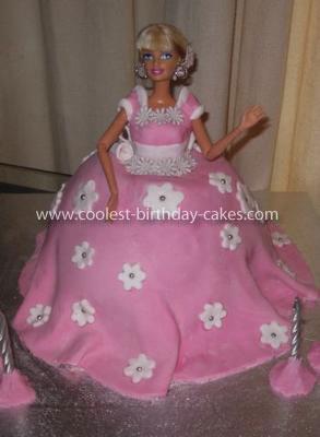 Coolest Barbie Doll Cake