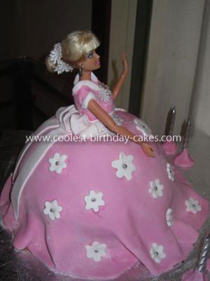 Coolest Barbie Doll Cake