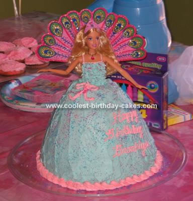 Princess Birthday Cakes on Coolest Barbie Island Princess Cake 114 21329814 Jpg