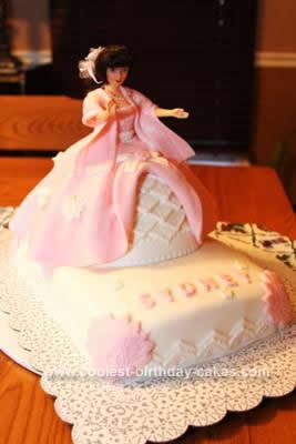 Homemade Barbie Princess