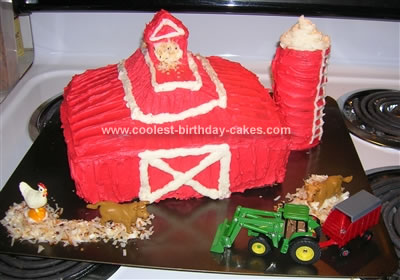 Homemade Barn Cake