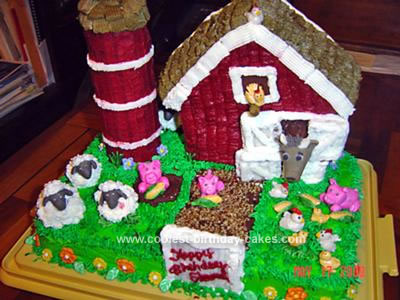 Birthday Cake Photo Gallery. Barnyard Birthday Cake Gallery