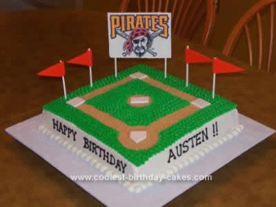 Baseball Birthday Cake on Coolest Baseball Birthday Cake 93