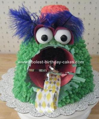 Baseball Mascot Cake
