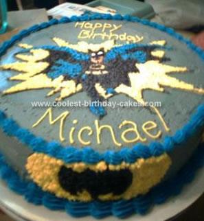 Coolest Batman Cake 27