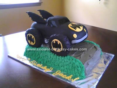Monster Truck Birthday Cake on Coolest Batman Monster Truck Cake 42