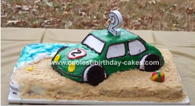 Beach Bug Cake