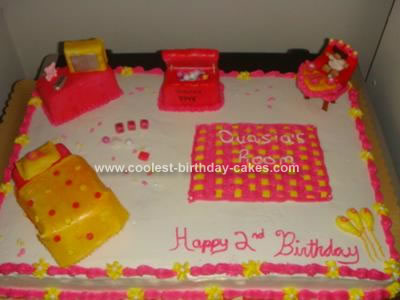 Homemade Bedroom Cake