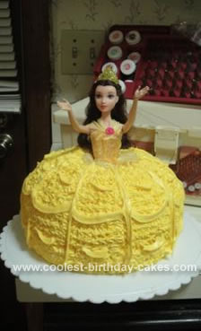 Homemade  Belle Cake