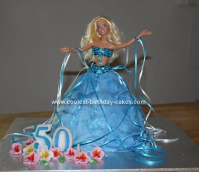Belly Dance Barbie Birthday Cake