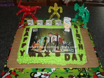 Pictures Of Ben 10 Birthday Cakes