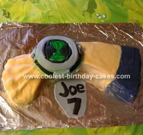 Ben10-Joe 7 Cake
