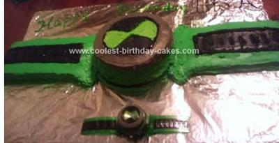Homemade Ben 10 Onmitrex Cake