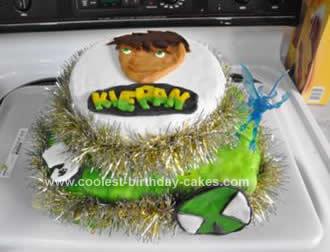 Homemade Ben10 Birthday Cake Design