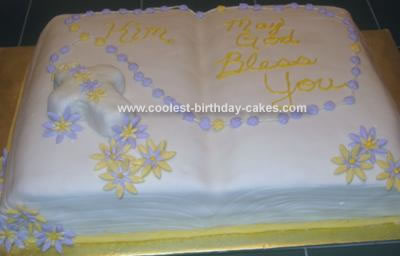 Bible Birthday Cakes http://www.coolest-birthday-cakes.com/coolest-bible-cake-8.html