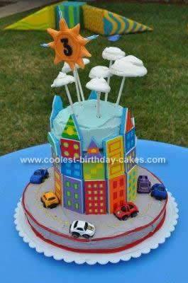 Homemade Big City Cake