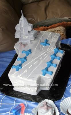 Aircraft Carrier Cakes 1