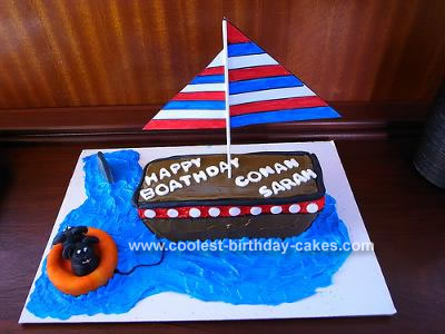 sailboat shaped cake sailboat shaped cake