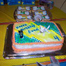 Bolt Birthday Cakes