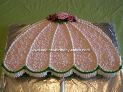 Coolest Bridal Shower Umbrella Cake