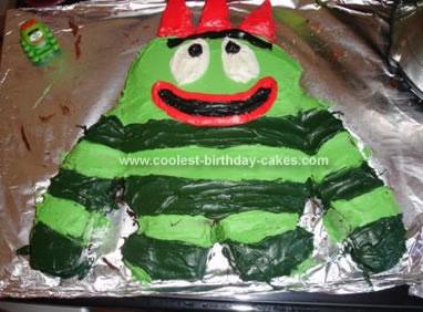 Homemade Brobee Cake