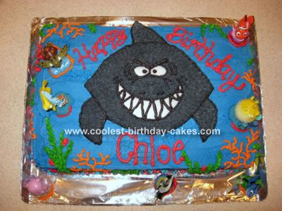 Shark Birthday Cake on Kids Outline Sharks   Amihai Com   Home