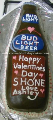 Homemade Bud Light Cake
