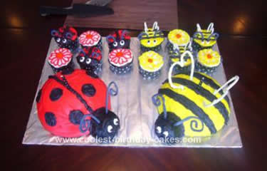 Homemade Bug Cakes