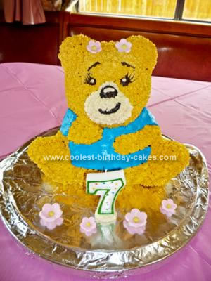 Build-A-Bear 3D Bear Cake