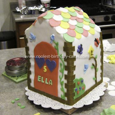 Homemade Build A Bear Birthday Cake