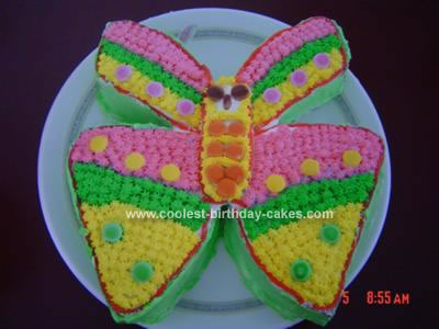 Butterfly Birthday Cake on Coolest Butterfly Birthday Cake 73