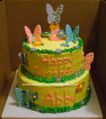 Butterfly Birthday Cake 83