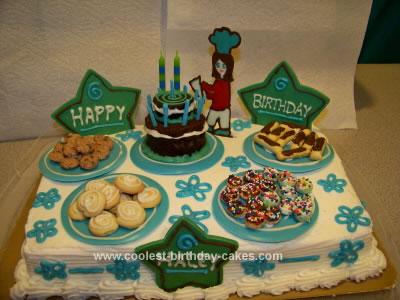 Homemade Cake for a Girl Baker