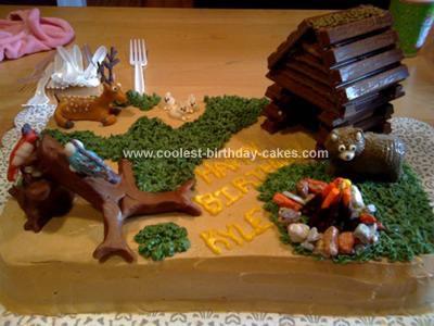 Homemade Camping Cake