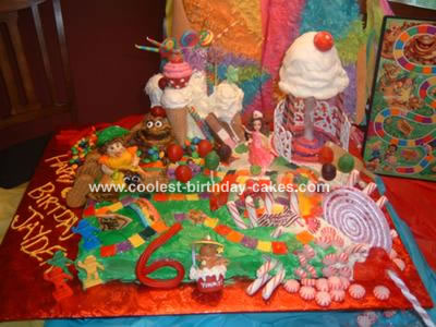 This Candy Land cake is any child's dream, full of Candy, Candy,