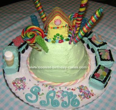 Homemade Candyland Cake
