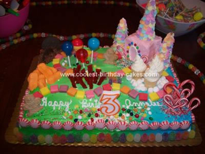 Birthday Cakes on Coolest Candyland Cake 16
