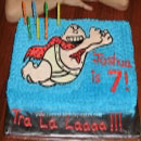 Captain Underpants Birthday Cakes