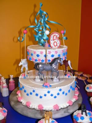 Carousel Birthday Cake http://www.coolest-birthday-cakes.com/coolest-carousel-child-birthday-cake-33.html