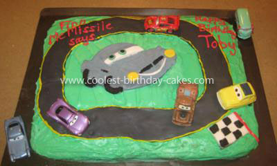 Coolest Cars 2 Finn McMissile Cake