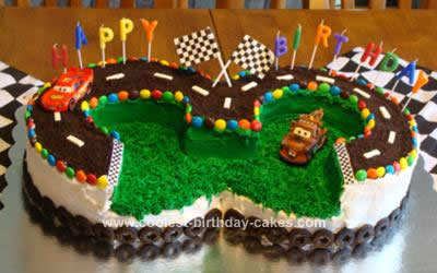 Lightning Mcqueen Disney Cars Birthday Cake