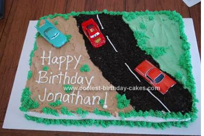 Cars Birthday Cake on Coolest Cars Birthday Cake 16