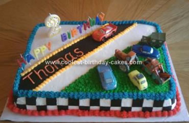 Cars Birthday Cake on Coolest Cars Birthday Cake 21