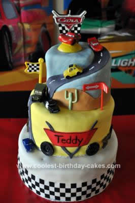Coolest Cars Birthday Cake 43