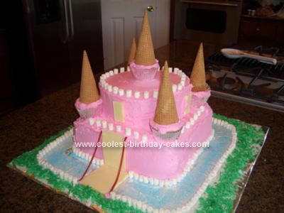 Princess Katies First Castle Birthday Cake