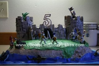 Castle Cake Battle